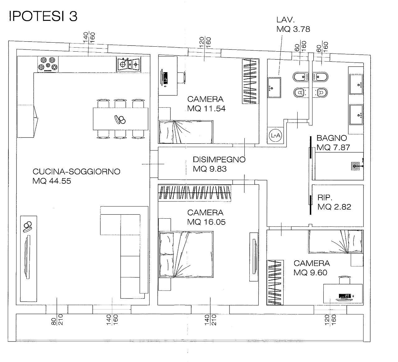 Appartamento CREMONA Euro 159.000,00